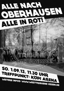 Oberhausen auswärts!